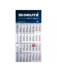 4-Monats-Kalender 2022